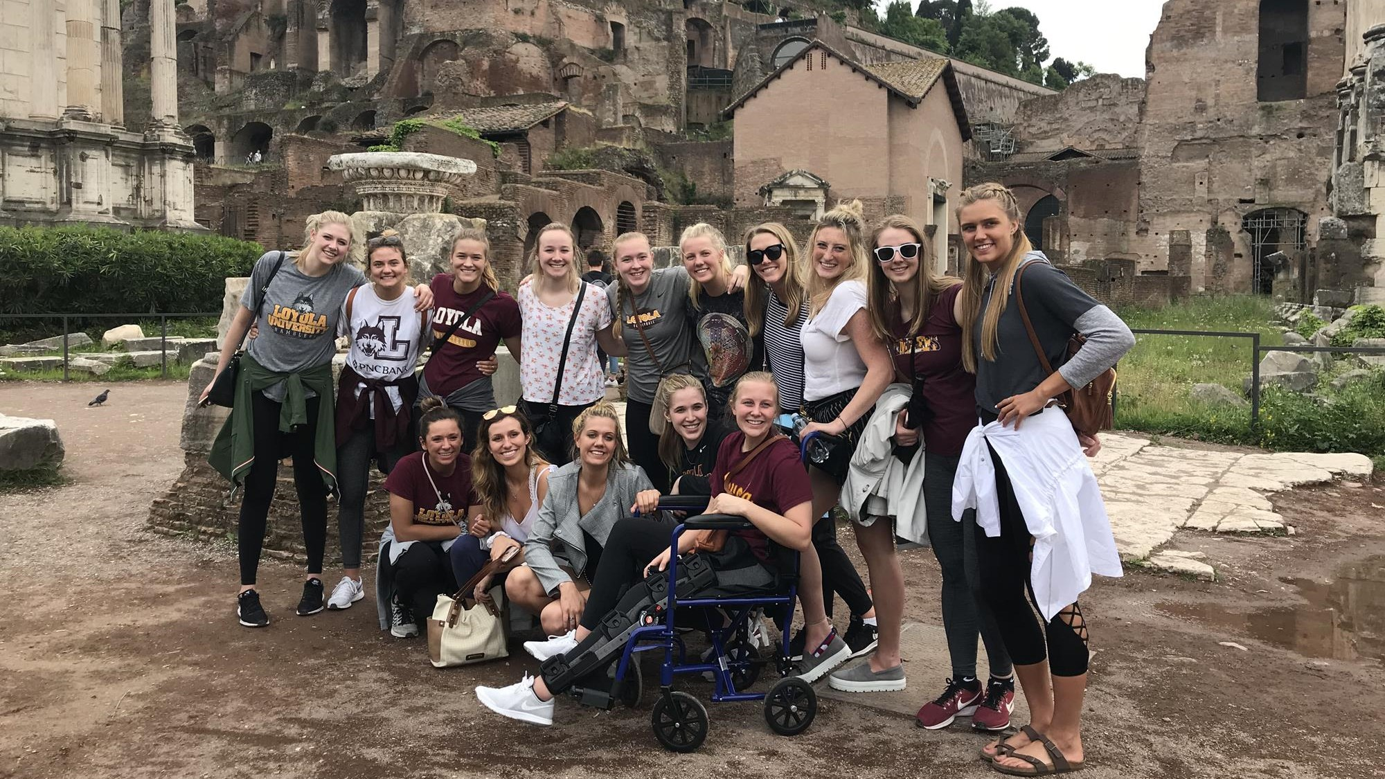 WVB Team in Rome